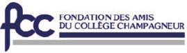 Logo Fondation des Amis du Collège Champagneur